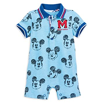 e4cb7696b Image Unavailable. Image not available for. Color: Disney Mickey Mouse  Sketch Romper for Baby Size 12-18 MO Multi