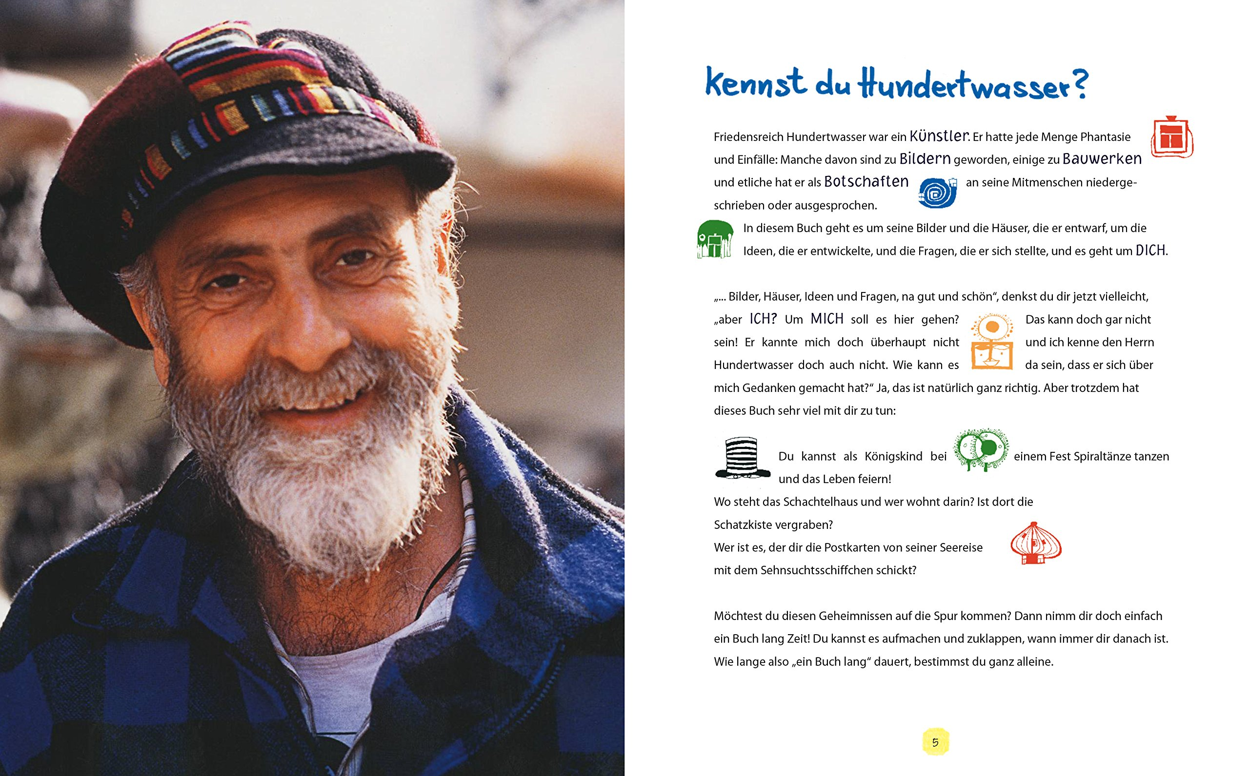 Träume Ernten Hundertwasser Für Kinder Amazon Barbara Stieff