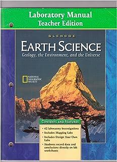 earth science laboratory manual teacher s edition glencoe rh amazon com Earth Science Regents Earth Science Week