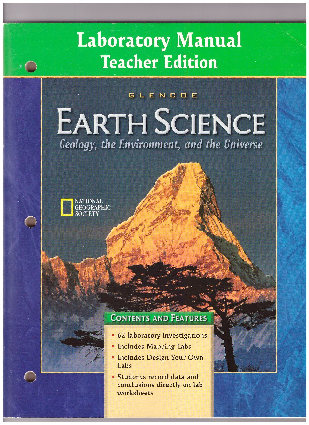 Laboratory Manual to accompany Glencoe Earth Science: Geology, the  Environment, and the Universe, Teacher's Edition: McGraw-Hill:  9780078245688: Amazon.com: ...