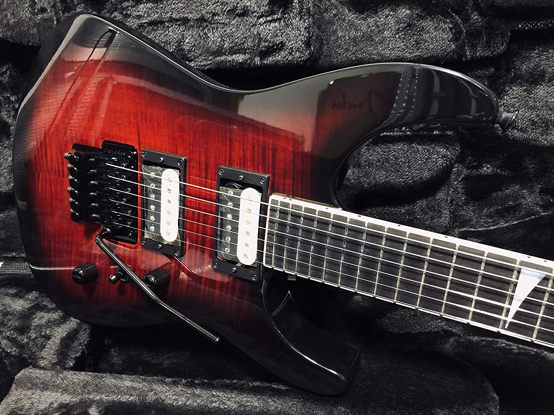 Jackson USA CustomShop Custom Select SL-2H Soloist/Black Cherry   B07NKLQ33F