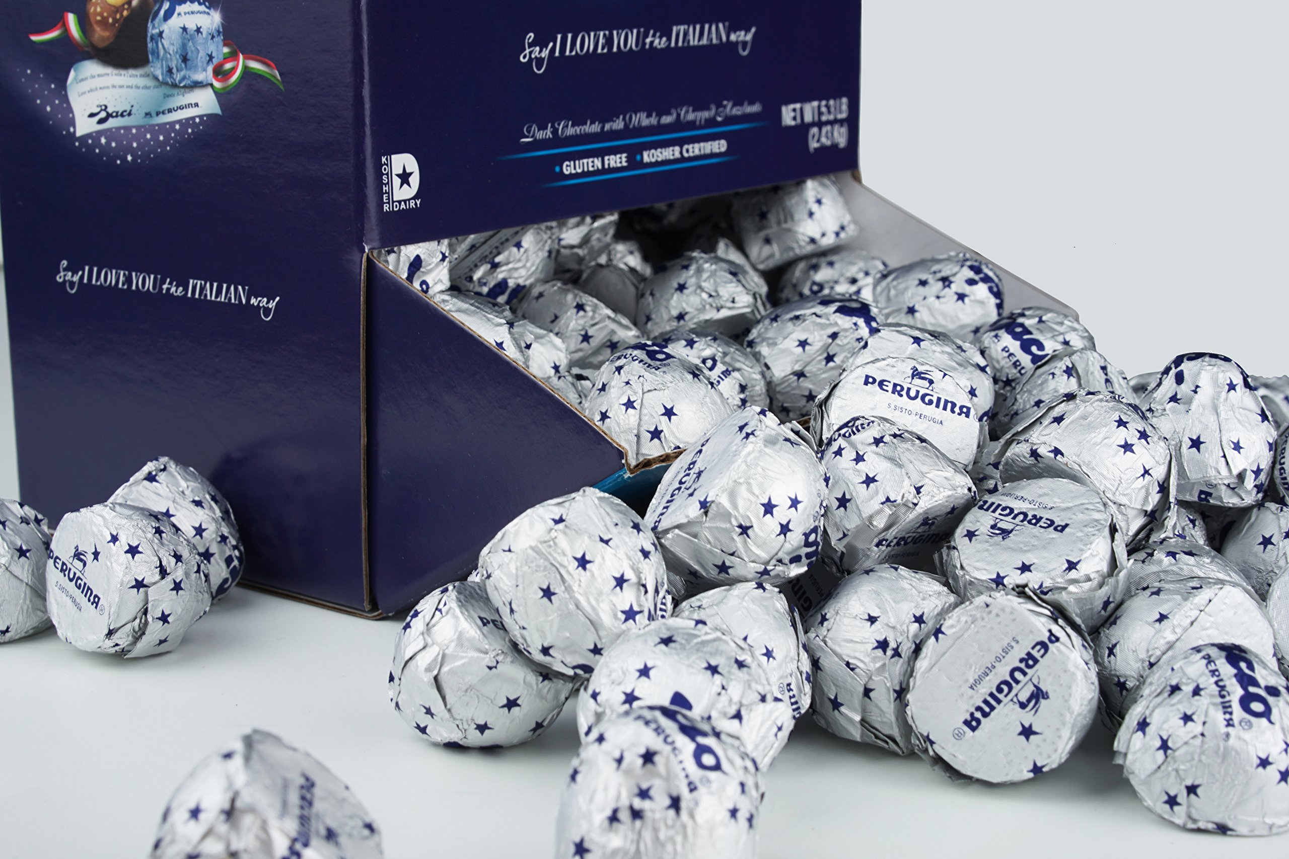 Perugina Baci Classic Dark Display Box, Dark Chocolate, 5.3 Pound by Perugina (Image #6)