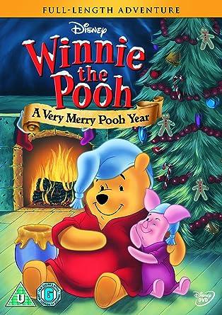 amazon com winnie the pooh a very merry pooh year region 2 non