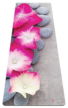 Yogabellies - Esterilla Premiun de Yoga y Toalla Suave, Caucho Natural, Biodegradable, Respetuoso con el Medio Ambiente, Antideslizante para Bikram ...