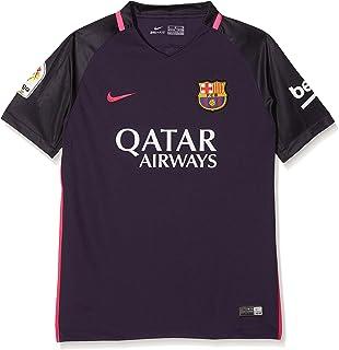 Nike 2ª Equipación FC Barcelona 2016 2017 - Camiseta Oficial  Amazon ... 25ae24622936f