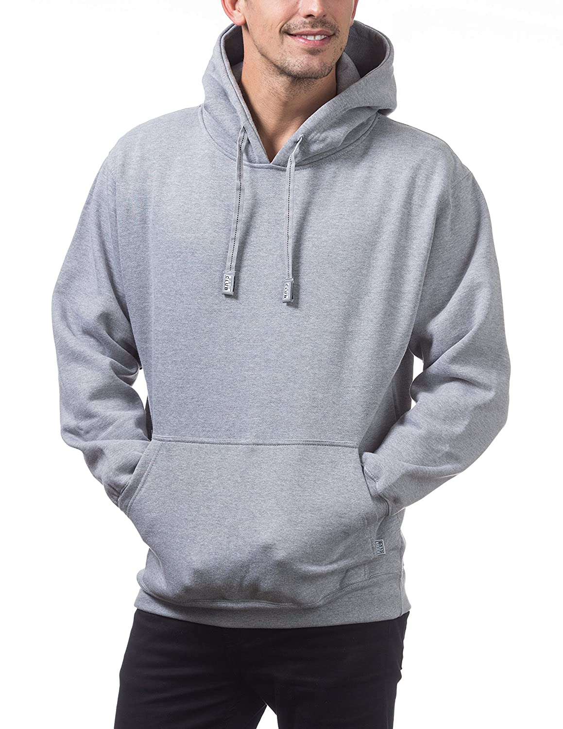 f6220ae0 Pro Club Men's Heavyweight Pullover Hoodie (13oz) at Amazon Men's Clothing  store:
