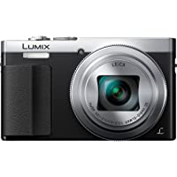 Panasonic Lumix DMC-TZ70EB-S Compact Digital Camera with LEICA DC Vario Lens - Silver (12 MP, 30x Optical Zoom, Control Ring, 1.2.EVF, Wi-Fi with NFC) 3-Inch LCD