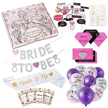 Amazon complete bachelorette party decorations kit 123 pieces complete bachelorette party decorations kit 123 pieces saving you time money junglespirit Choice Image