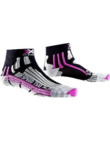 X-Socks X020436B048 Negro, Violeta, Blanco Femenino 37-38 - Calcetines (