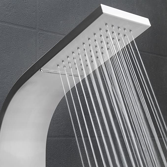 "Best Shower Panels: AKDY 39"" Wall Mount Easy Connect Shower Panel"