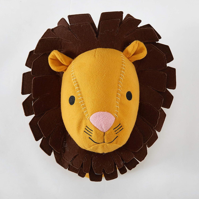 Lion Stuffed Animal Wall Mount