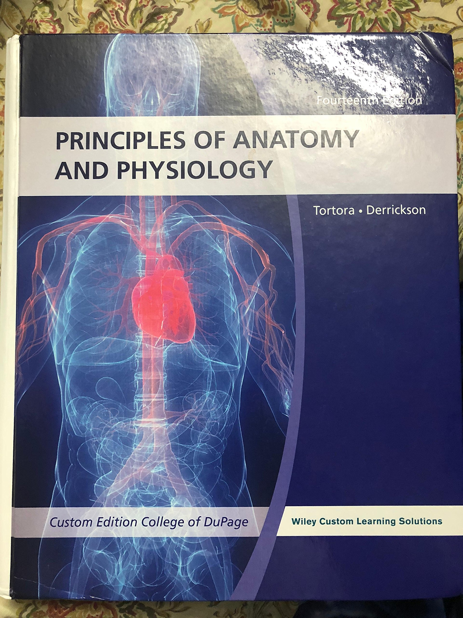 Principles Of Anatomy And Physiology, 14th Edition (WileyPLUS Access Code):  Gerard J. Tortora, Bryan H. Derrickson: 9781118808979: Amazon.com: Books