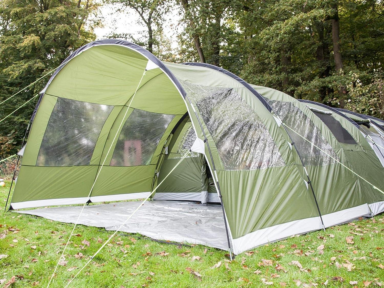 Tenda famiglia Skandika Canopy Gotland 6 Tenda-Veranda 450 X 290 X 210 Cm Verde Nuova in offerta