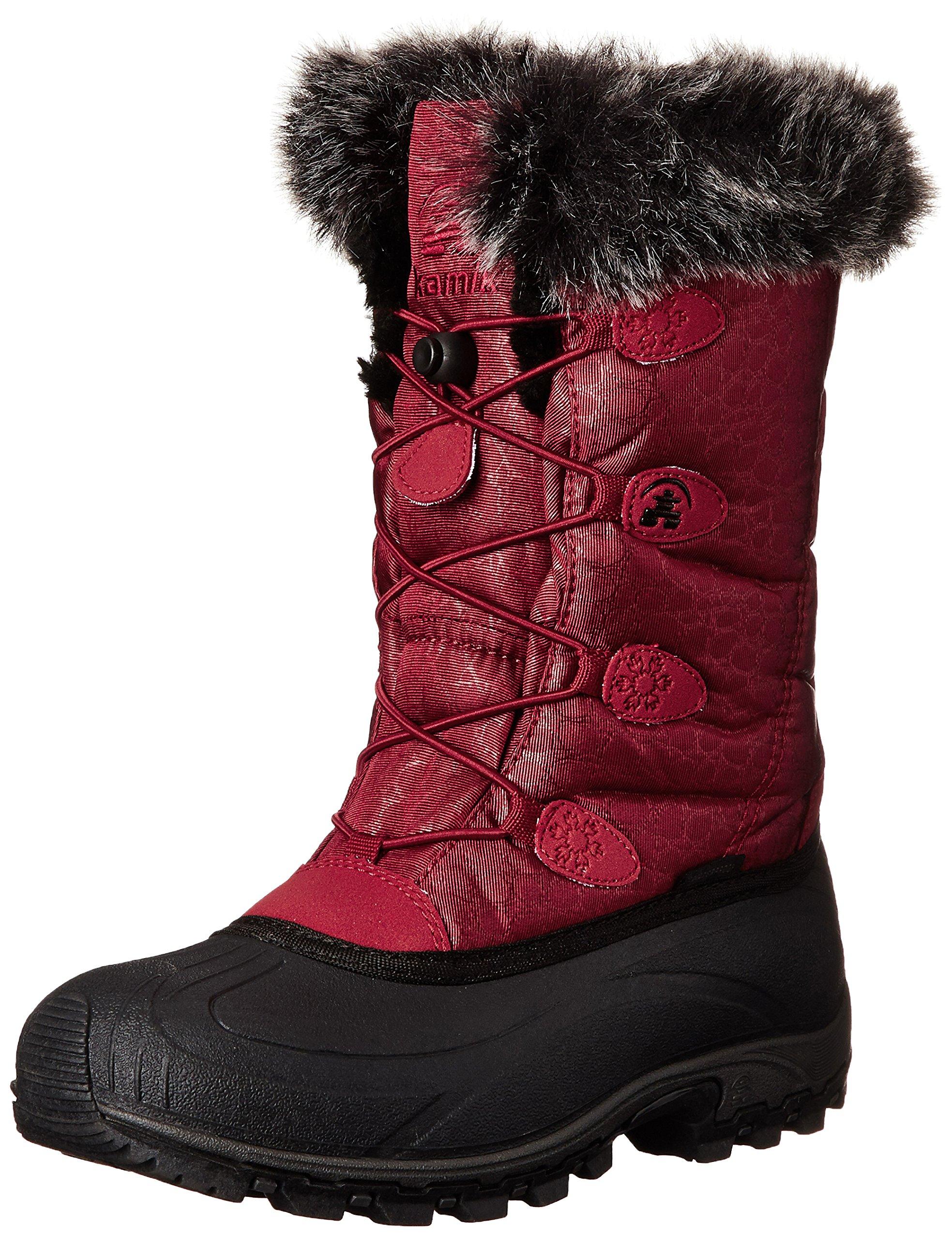 Kamik Women's Momentum Insulated Winter Boot, Dark Red, 7 M US