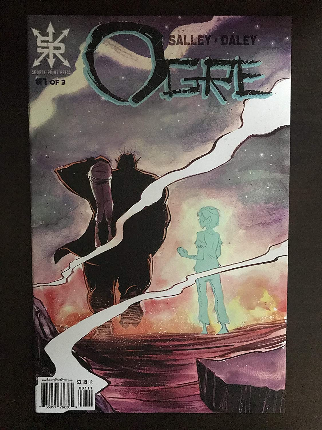 Ogre 2018#1 first printing Source Point Press Comic Book NM Condition 1st print