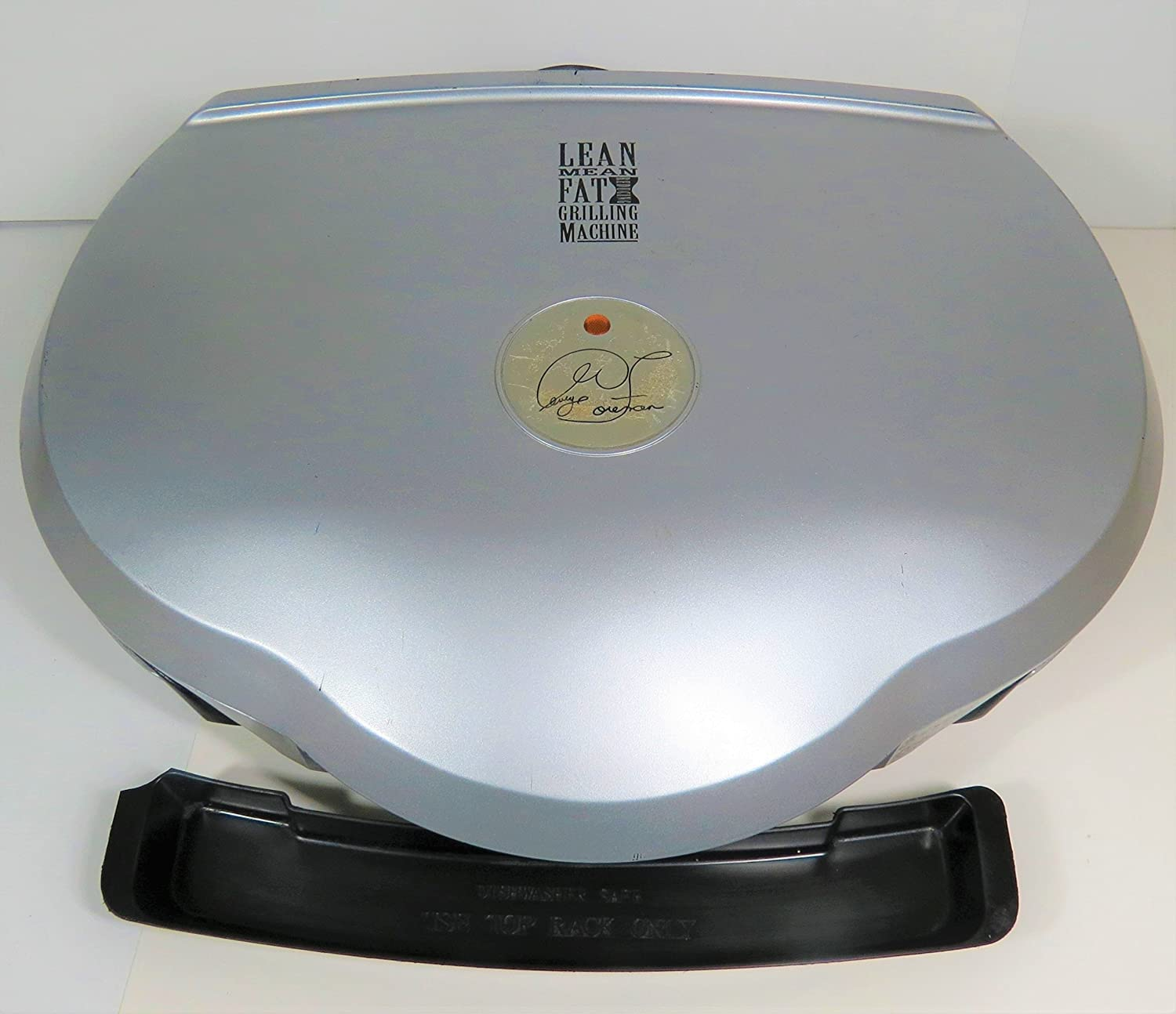 GEORGE FOREMAN LEAN MEAN FAT GRILLING MACHINE - Family Jumbo Size Electric Grilling Machine GR35PQ