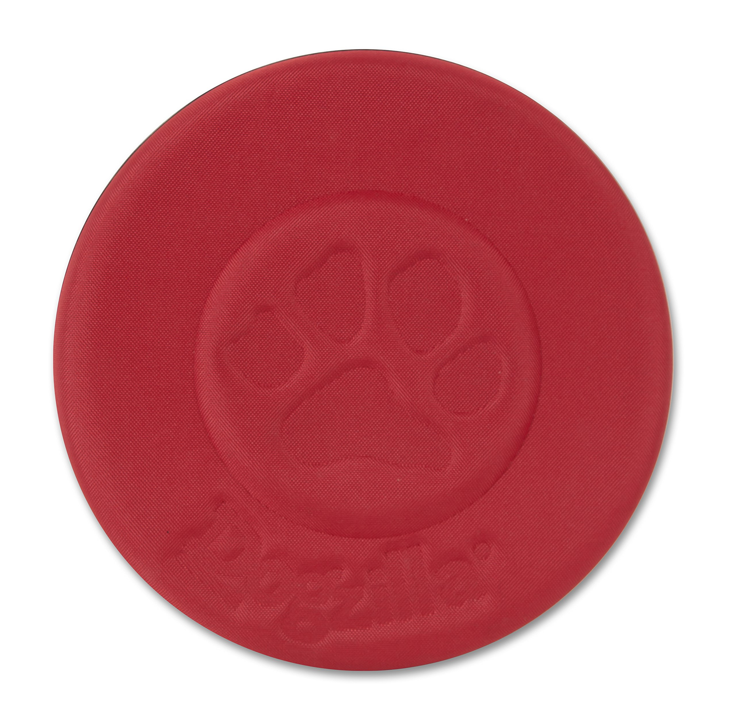 Petmate 30889 Dogzilla Flying Disc Pet Toy, 10-Inch, Red
