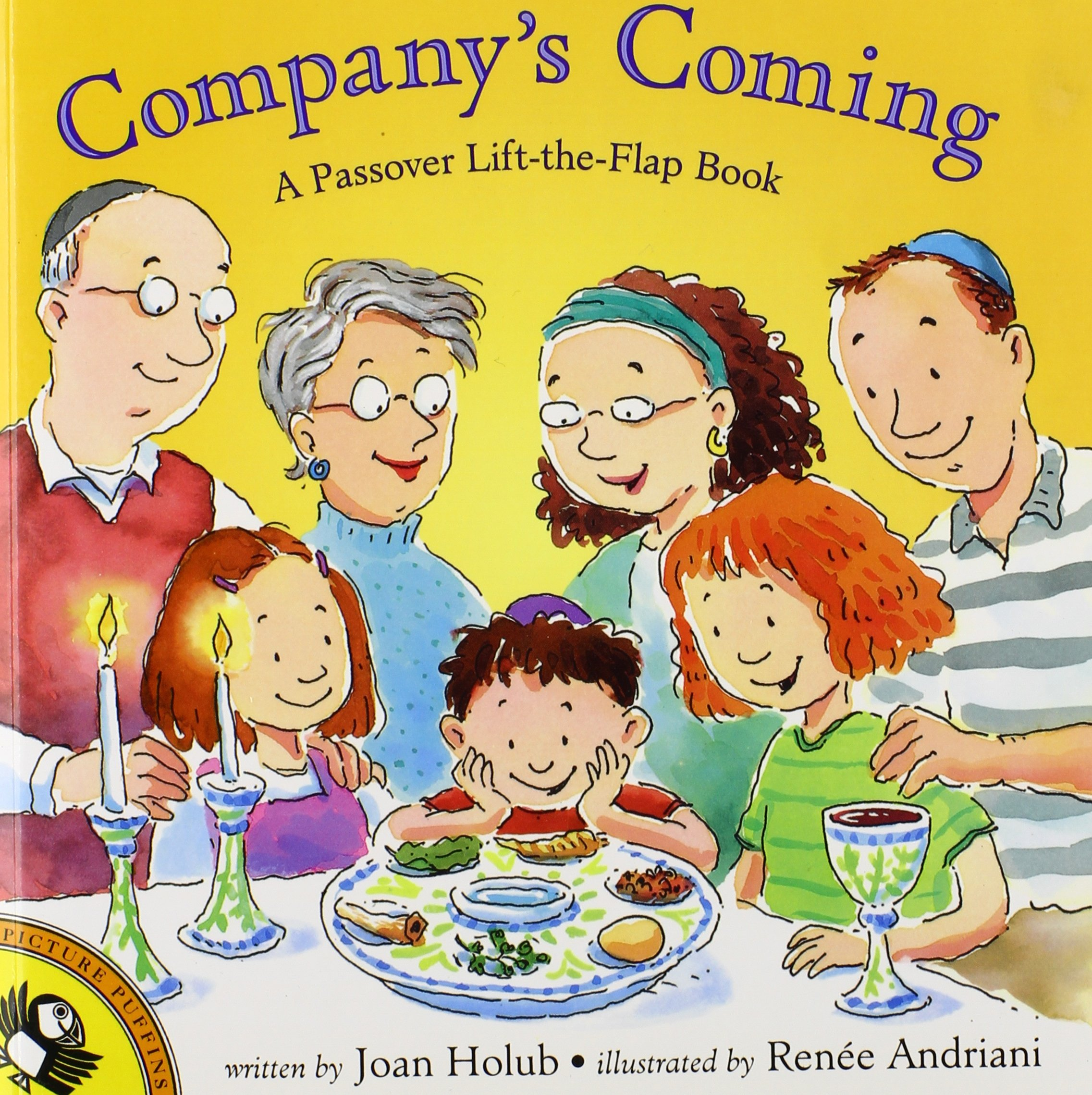 company u0027s coming a passover lift the flap book picture puffin