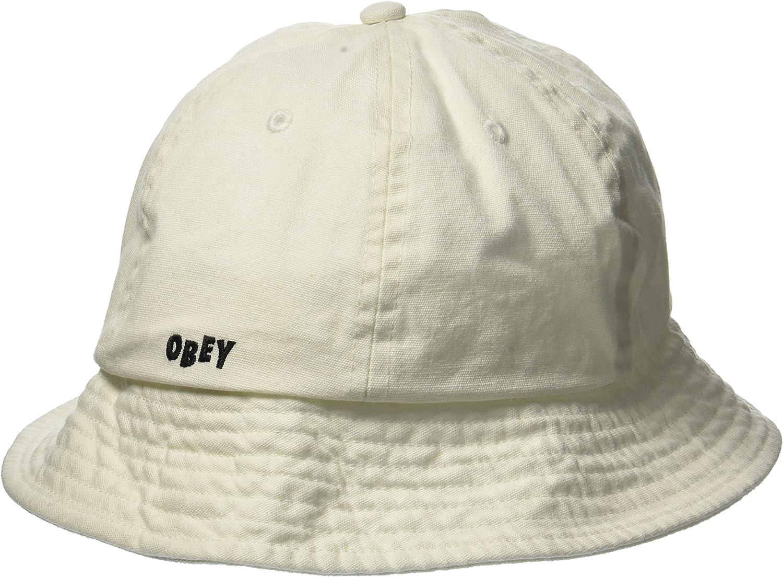 Obey Hombres Decades Bucket Hat Gorra de béisbol - Beige -: Amazon ...