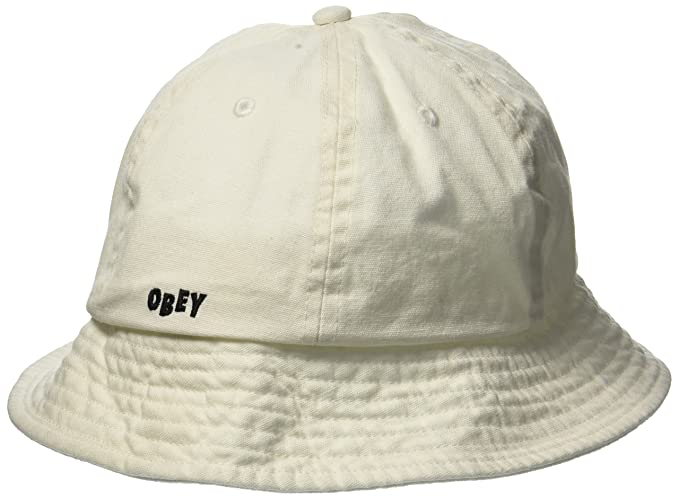 b92db6130 Amazon.com: Obey Men's Decades Bucket HAT, Natural, O/S: Clothing