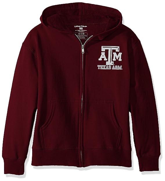 b4c2b36d College Kids NCAA Texas A&M Aggies Youth Zip Hoodie, Size 8-10 /Small,  Maroon