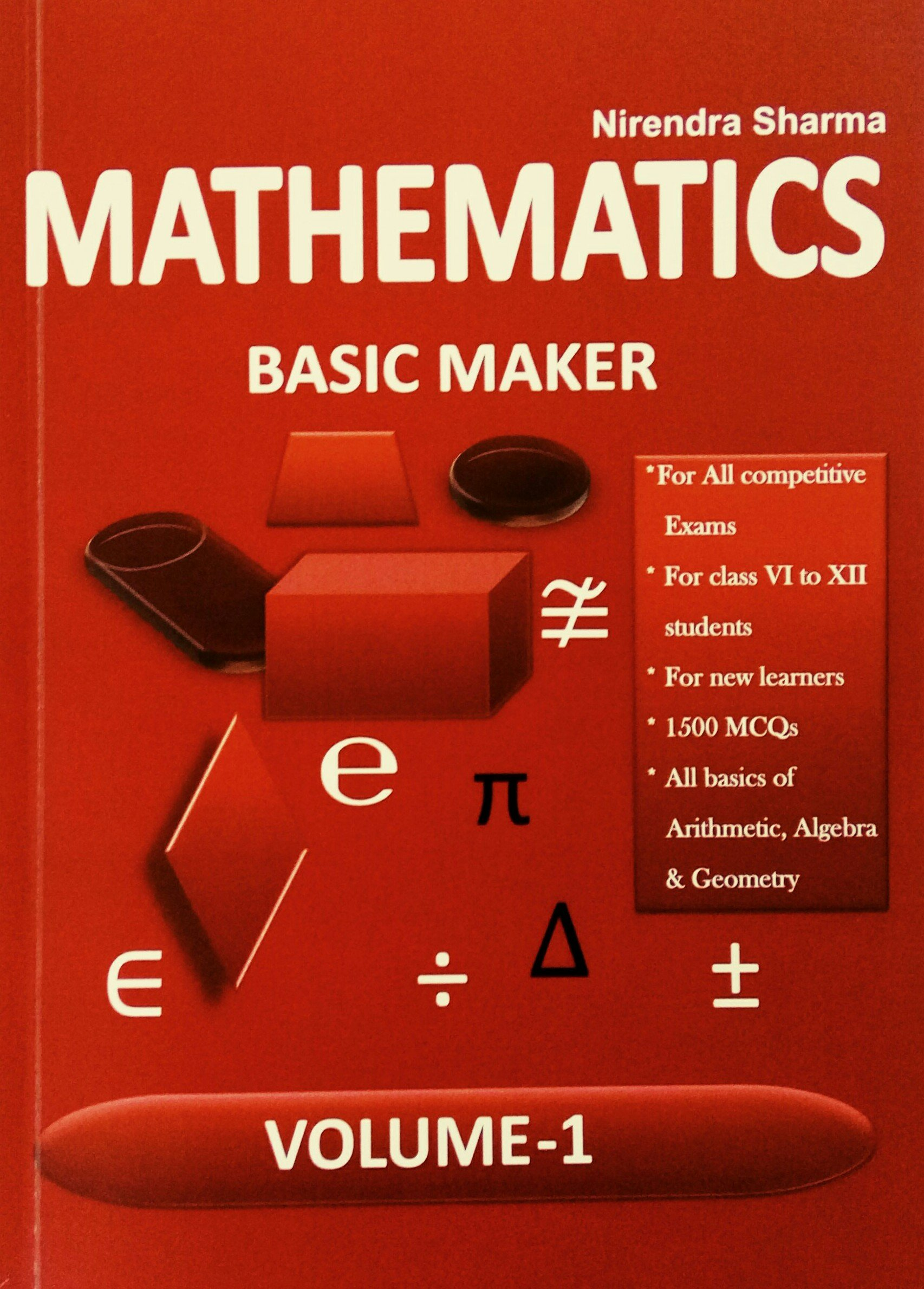 Buy Mathematics Basic Maker: For Competitive Exams, SSC, All ...