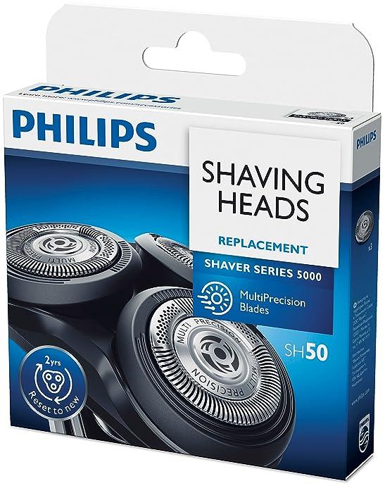 金盒特价 Philips 飞利浦 SH50/50 电动剃须刀替换刀头 适用于5000系列 ¥191 中亚Prime会员凑单免运费直邮到手约¥211