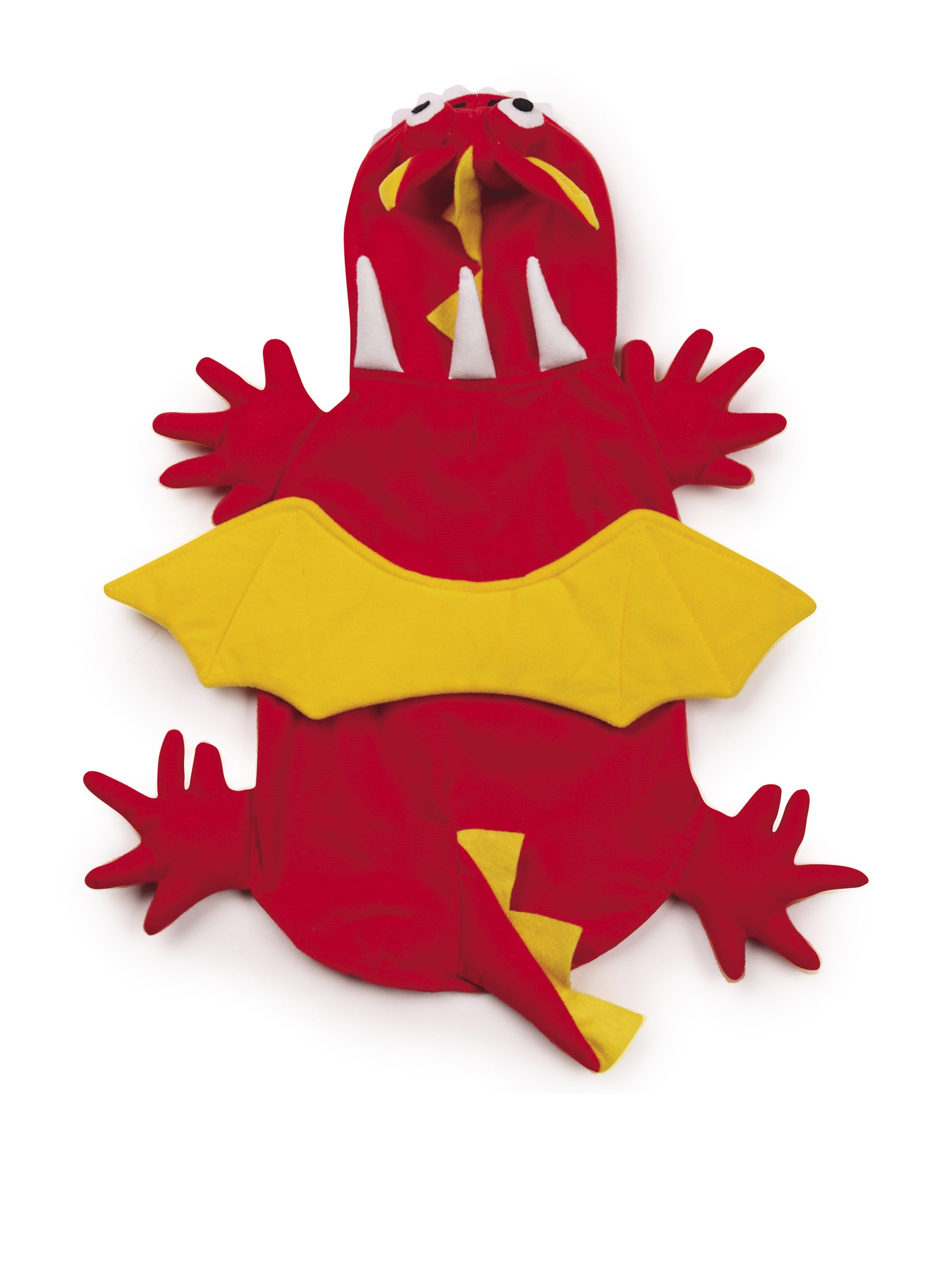 Zack & Zoey Dragon Dog Costume, Medium, Red by Zack & Zoey