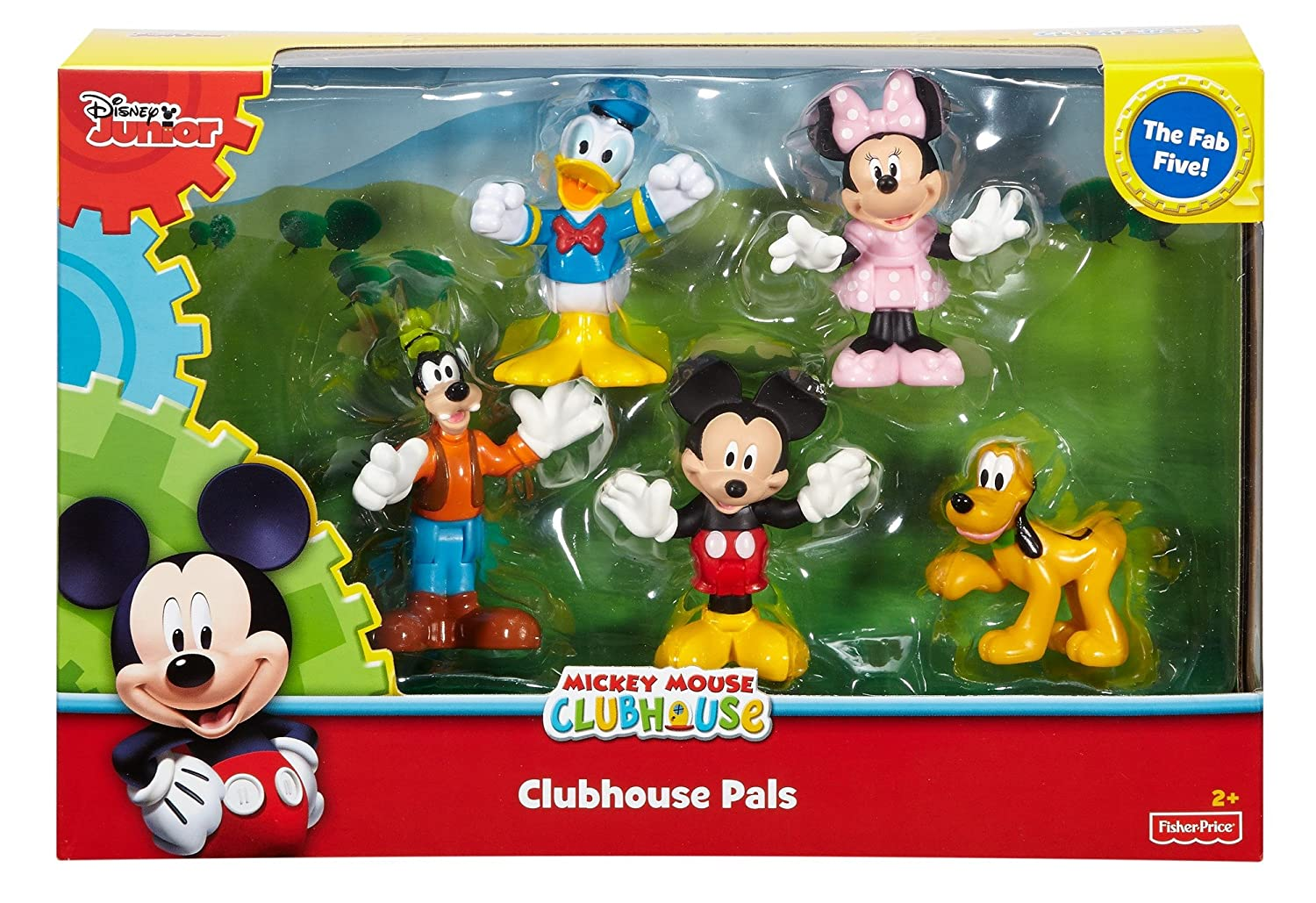 Amazon.com: Fisher-Price Disney Mickey Mouse Clubhouse, Clubhouse ...