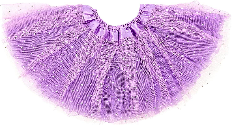 Dancina Sparkle - Tutus para niñas (6 meses a 13 años) - Morado ...