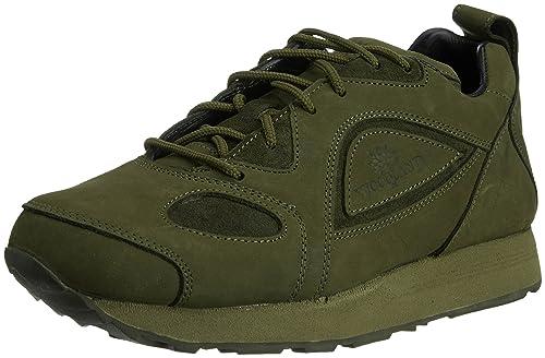 Woodland Men's Nubuck Leather Sneakers