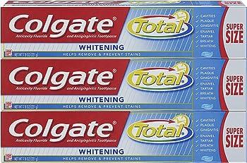 3-Pk. Colgate Total Whitening Toothpaste