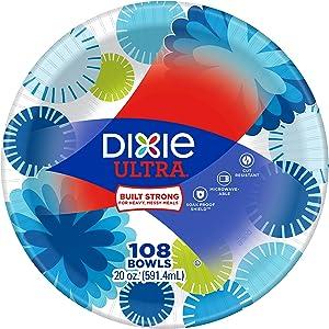 Dixie Ultra Paper Bowls, 20 oz, 108 Count