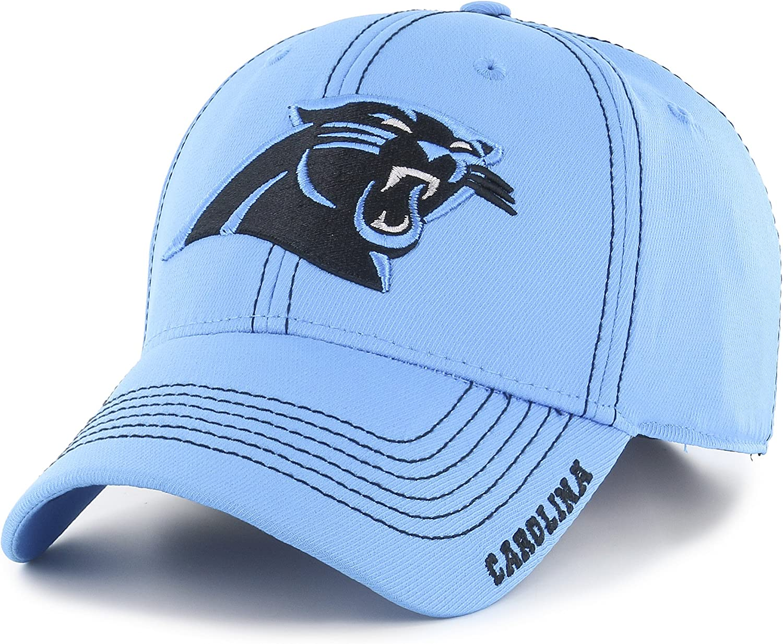 Black OTS NFL Arizona Cardinals Mens Wilder Center Stretch Fit Hat Large//X-Large