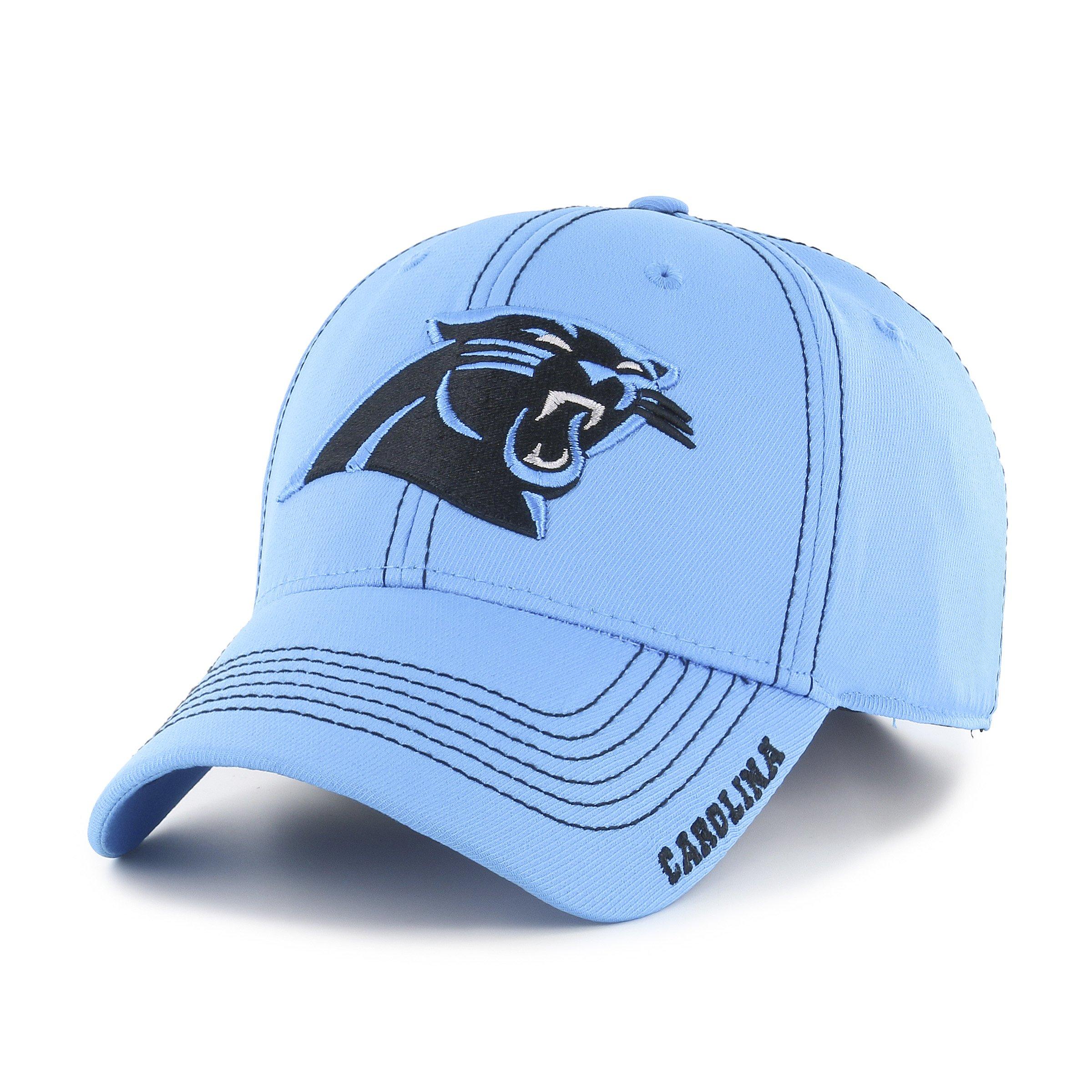 ea6cefa4da0 Galleon - OTS NFL Carolina Pantshers Adult Start Line Center Stretch Fit Hat