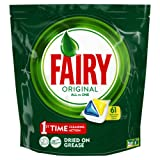 Fairy Original All In One Dishwasher Tablets Lemon, 61 Tablets