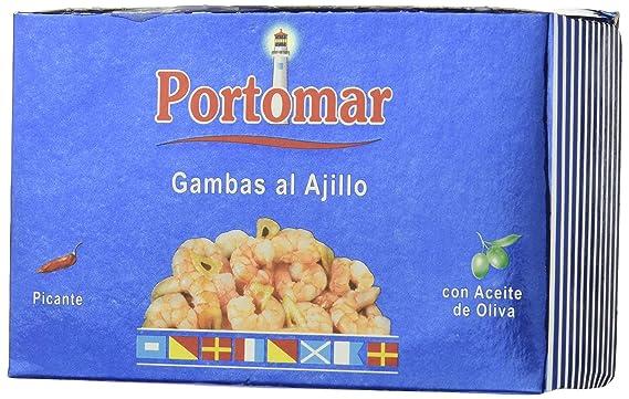 Portomar - Gambas al ajillo picantes- con aceite de oliva ...