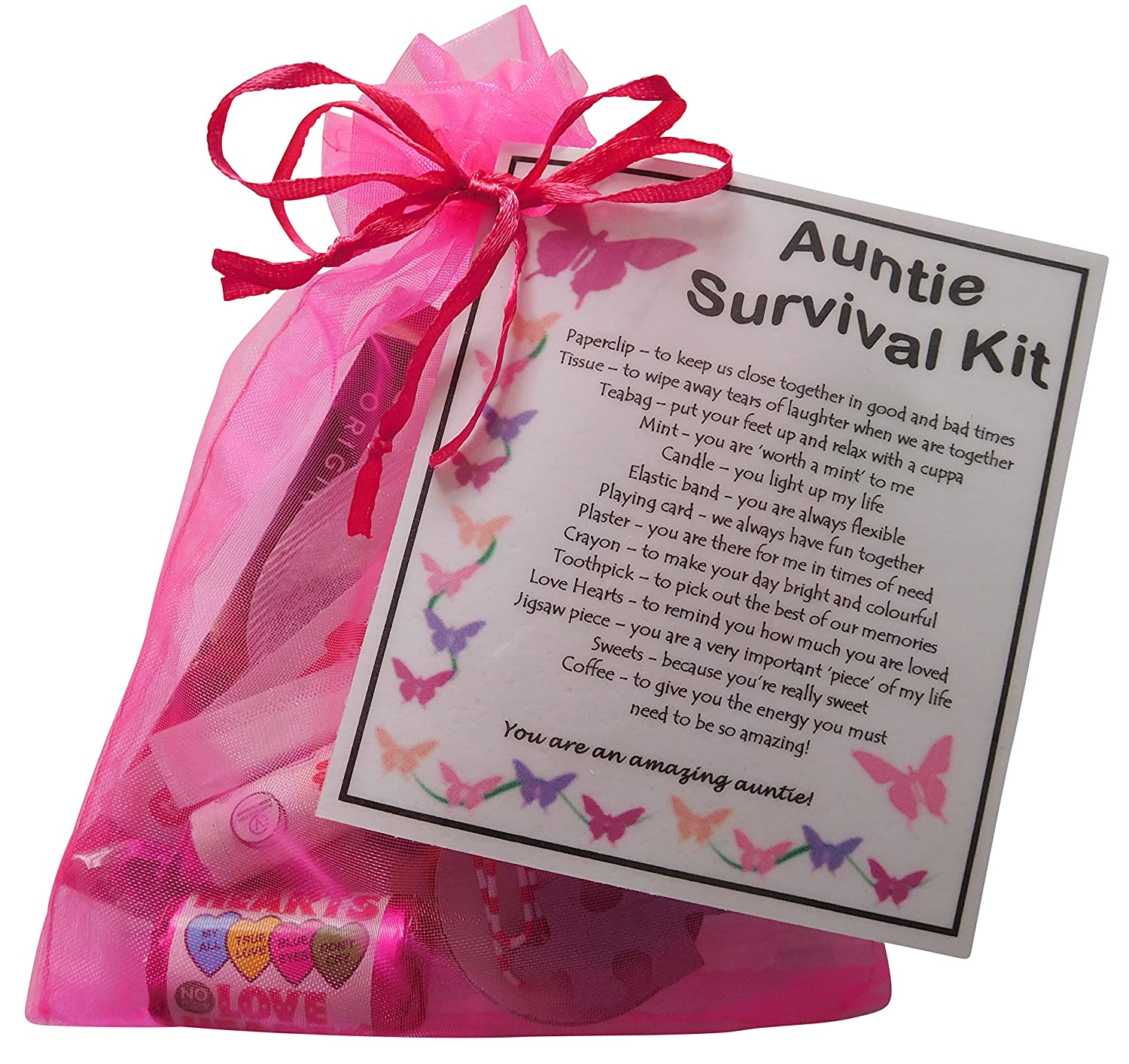 Niece or Nephew/'s 18th Birthday Fun Survival Kit * unique Made Gift