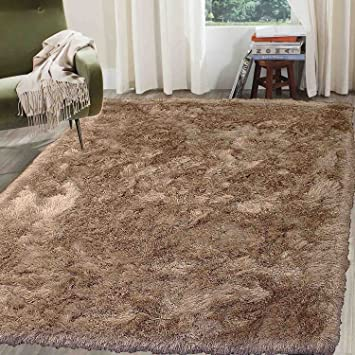 Amazon Com Shag Shaggy Fluffy Fuzzy Furry Plush Solid Soft Area Rug
