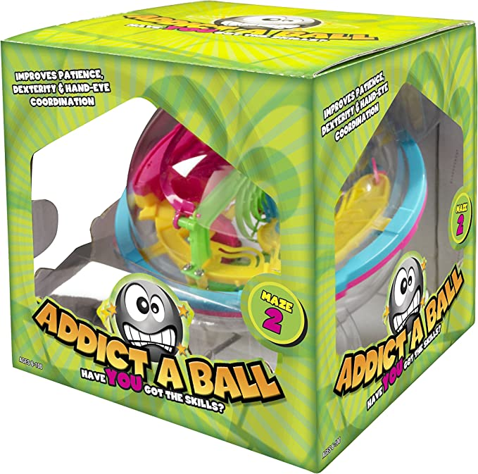 Addict A Ball In Vento 501082 Pelota Pasatiempos con Laberinto (14 ...