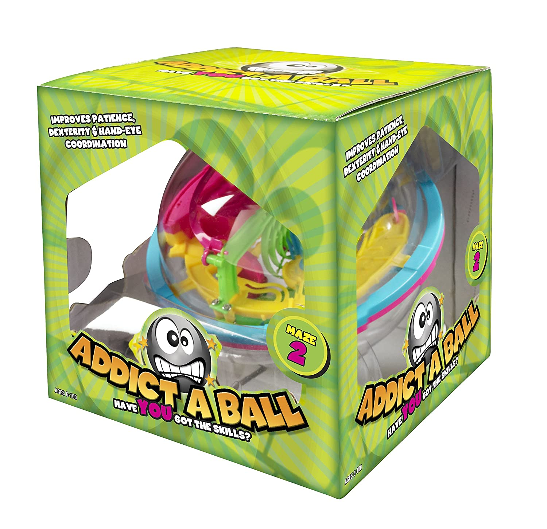Kidult Addictaball Small Maze Puzzle 2 - Multi-Coloured The Sales Partnership 501082 B002ZSSEG2 Distributors