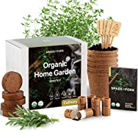 Deals on Spade To Fork Indoor Herb Garden Starter Kit