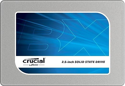 79 opinioni per Crucial BX100 Unità a Stato Solido da 500 GB, Argento