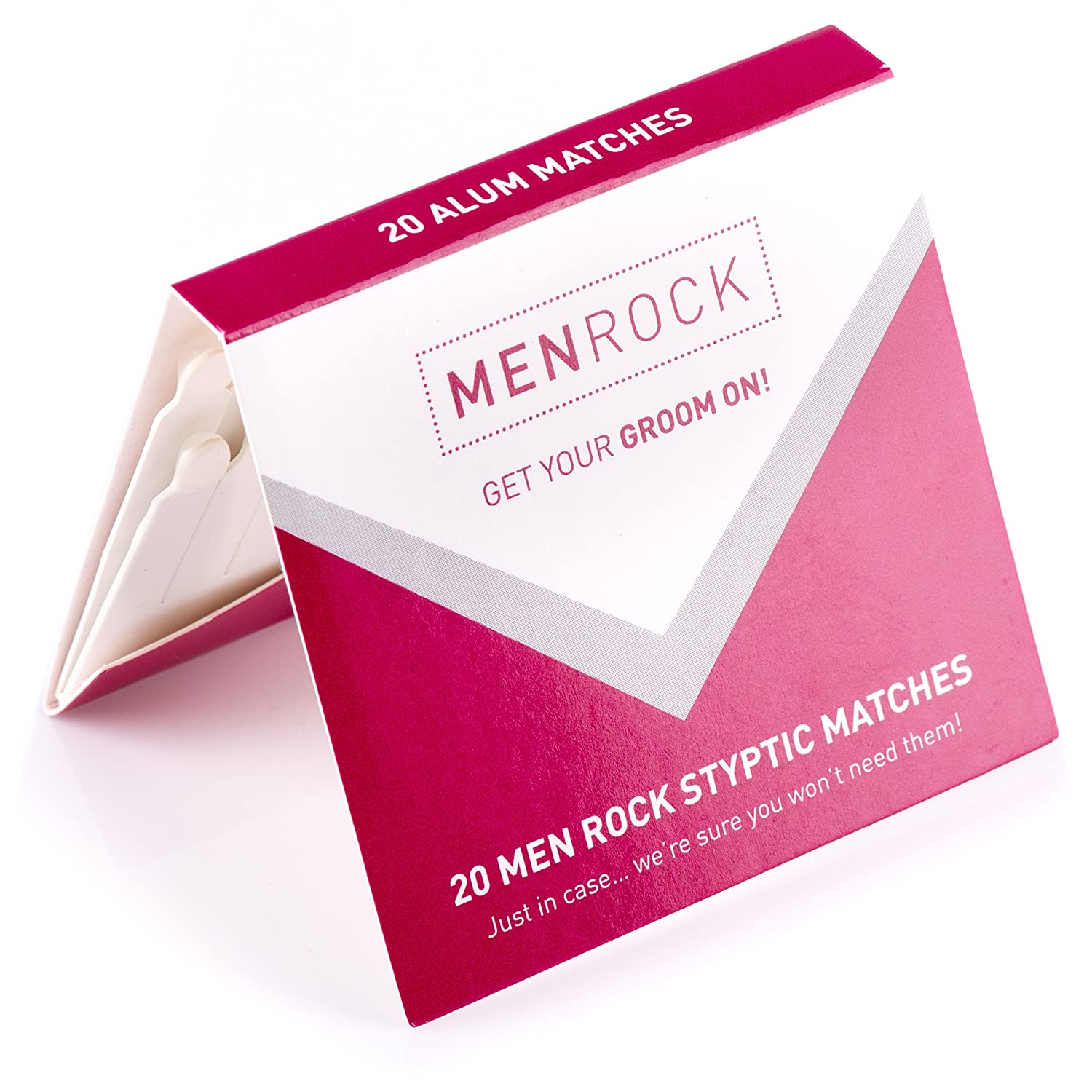 Men Rock Styptic Matches - Pack of 20 MRSTM