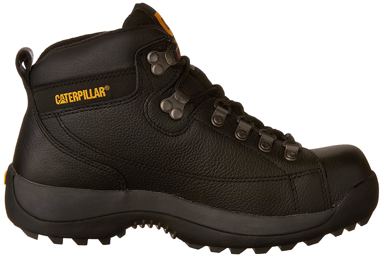 Caterpillar Hombre Hidráulico Mid Cut Botas de trabajo, Negro - negro, 44 EU M: Amazon.es: Zapatos y complementos