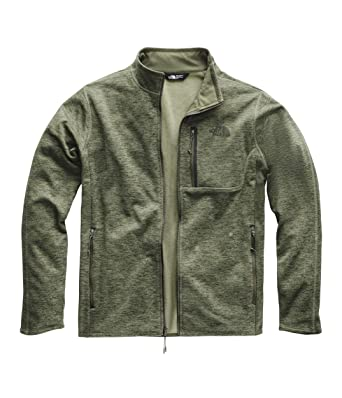 5435bb2b268c The North Face Men s Canyonlands Full Zip Four Leaf Clover Heather Small