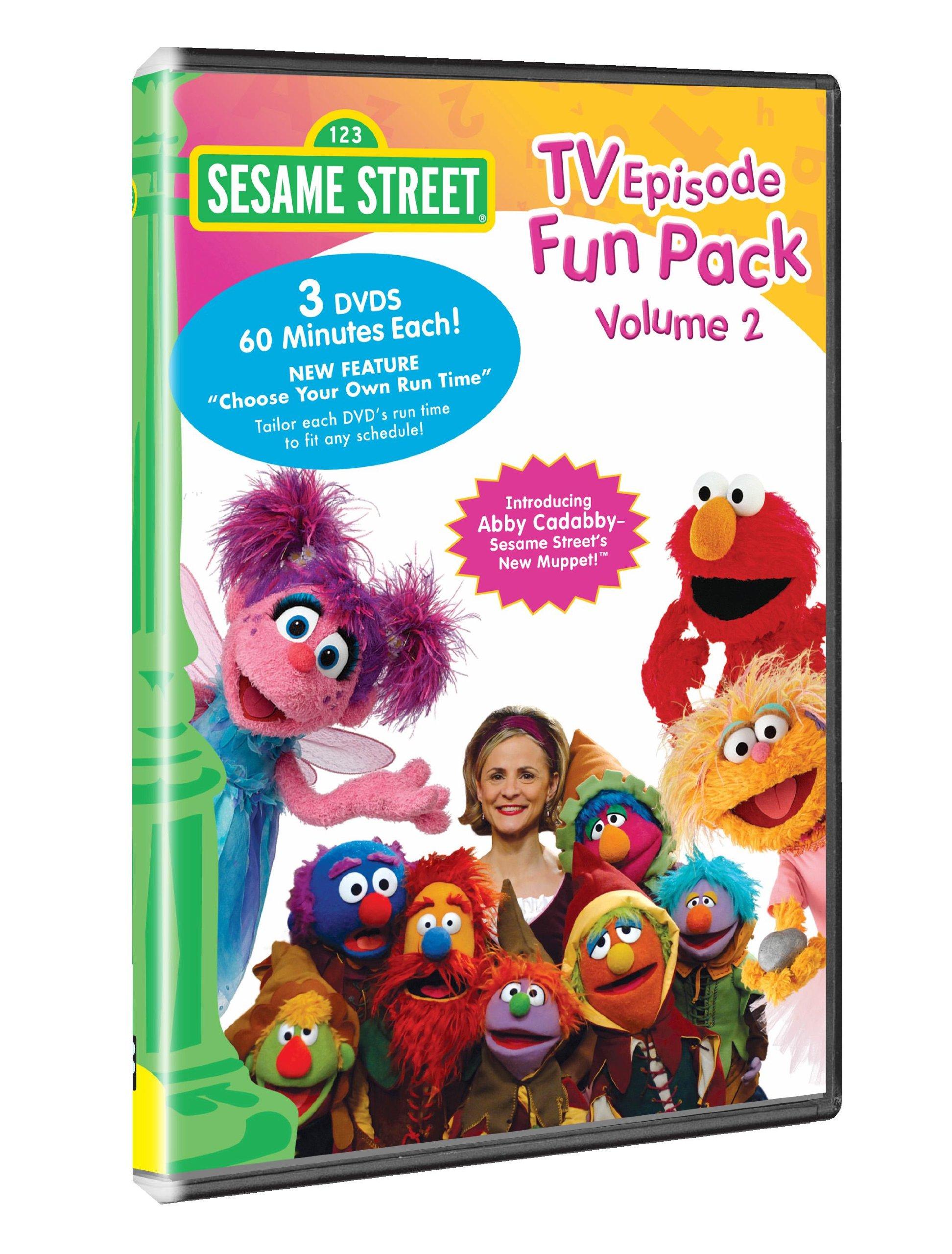 Sesame Street - TV Episode Fun Pack, Vol. 2