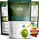 Premium Organic Matcha Green Tea Powder 2oz (56.5) Thailand - Award Winner Tropical Green Color, Dissolve in Cold Water Easy to Drink, Make Matcha Latte, Smoothies, Baking & Coffee Alternative