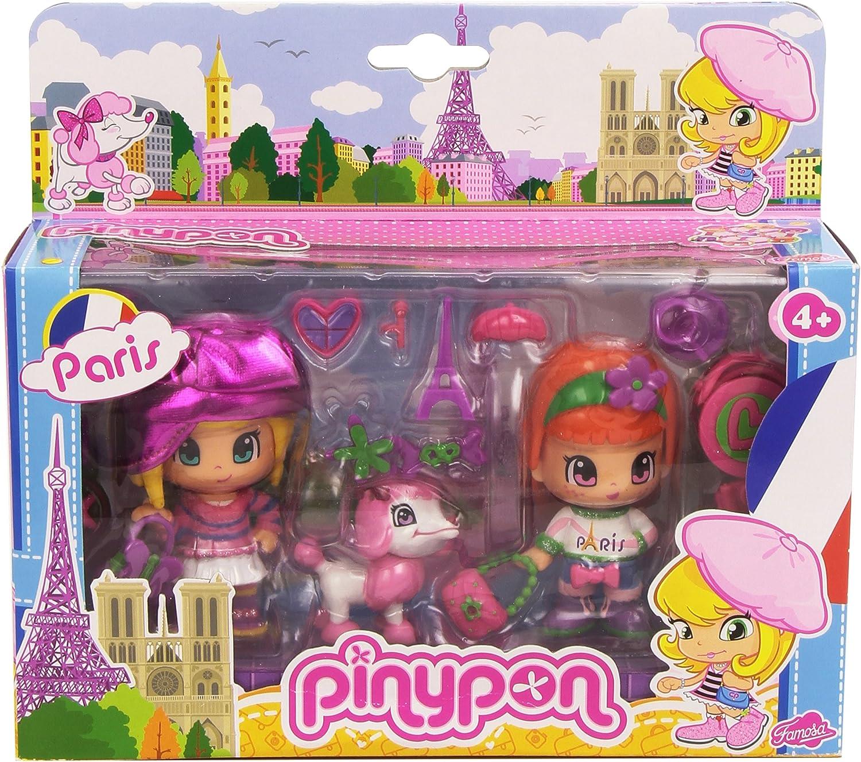 Amazon.es: Pinypon - Pack Viaja por el Mundo: París (Famosa ...