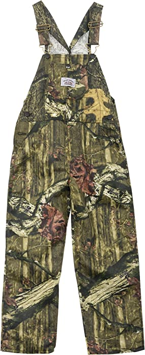 e0ed3b4e2babd Round House Big Boys Mossy Oak Camo Bib Overalls Made in USA. Back.  Double-tap to zoom